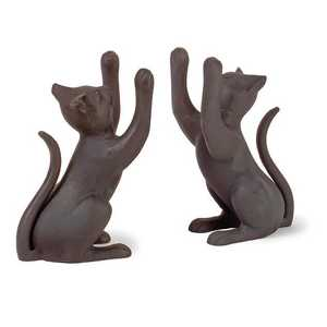 Imax Corp 60034-2 Cat Bookends - Set Of 2