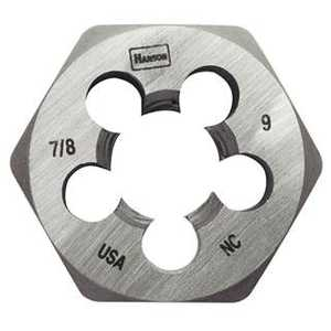 Irwin 9423 Hexagon Machine Screw Dies (hcs) 1/4 In - 28 Nf