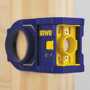 Irwin 3111001 Wood Door Lock Installation Kit