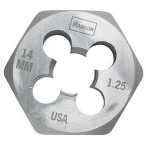 Irwin 9740 Hexagon Metric Die (hcs) 10 Mm - 1.5