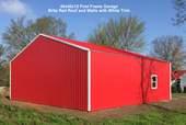 40x40x12 Post Frame Garage