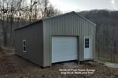 18x30x10 Post Frame Garage