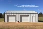 30x40x10 Post Frame Garage