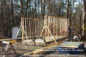 12x25x10 Stud Frame Garage
