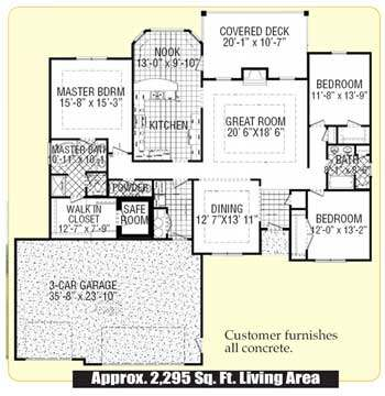 The Torrence House Package Floor Plan