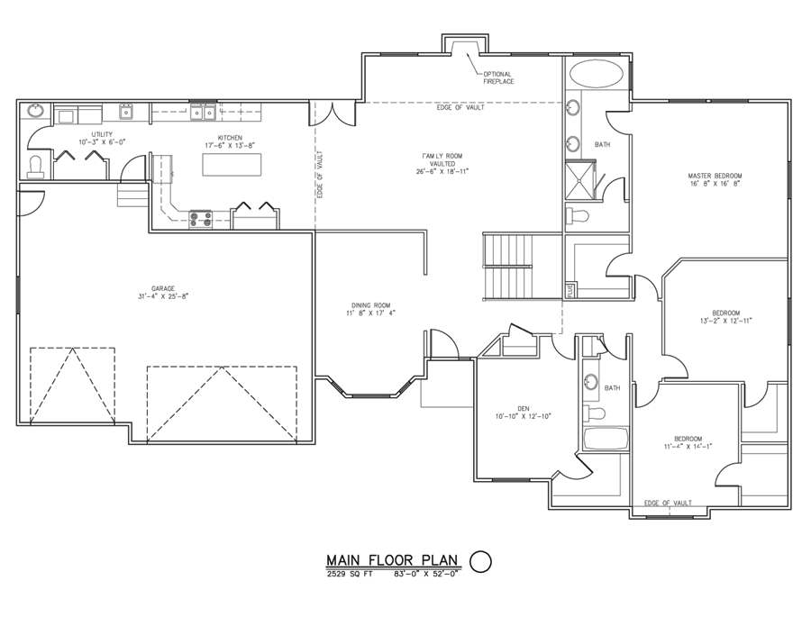 The Wasatch Home Package 3 Bedroom 3 Bath Sutherlands