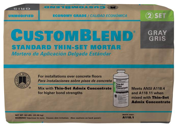 Custom Building Products CBTSG50