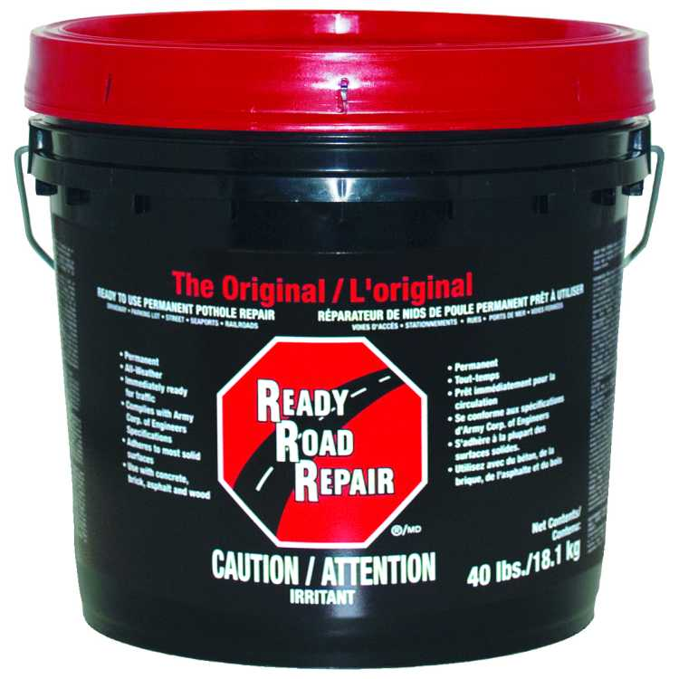 Ready Road Repair Pothole Patch 3 5 Gal Gardner Gibson 6430 9 27