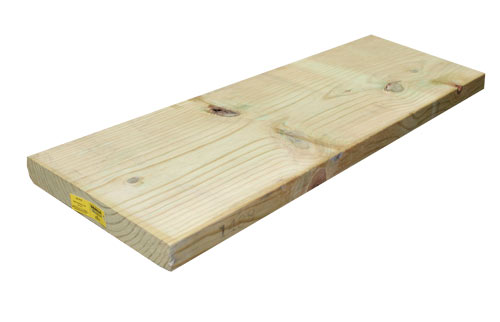 Sutherland Lumber 2X12 12 2x12 12 ft Treated Lumber at
