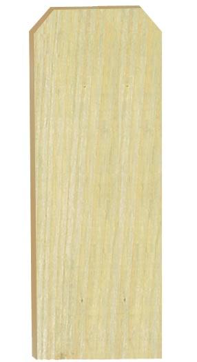1x6 1-Inch X 6-Foot Treated Fence Board