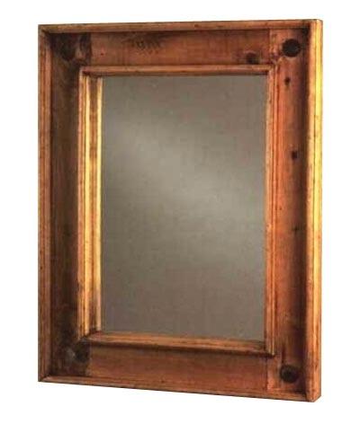 Rustic Pine Furniture 420 Iron Medallion Mirror At Sutherlands