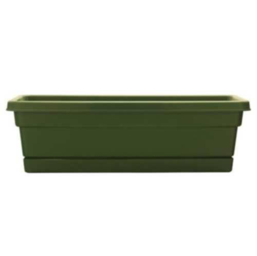 Southern Patio WB2412OG 24-Inch Olive Green Rolled Rim