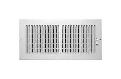 Accord ventilation abswwh2146 2 way sidewall ceiling for 14x6 floor register