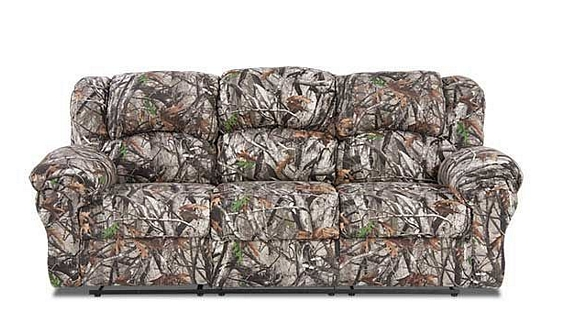 Reclining Sofa In Next Camo Affordable Furniture 1003