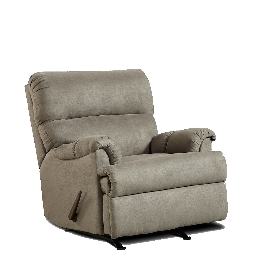 Affordable Furniture 2155 Sensations Gray Microfiber