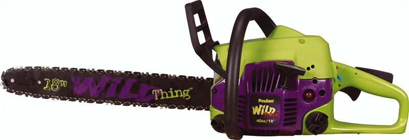 Poulan  inch cc wild thing chainsaw at