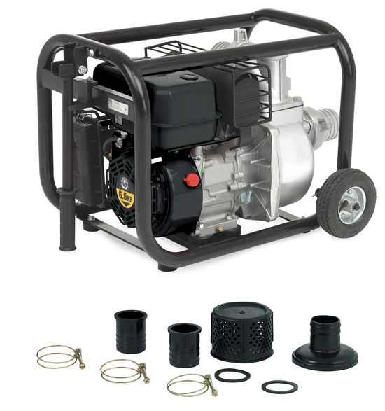 Steele SP-UG-300E 6.5-Hp 3-Inch Electric Start Water Pump