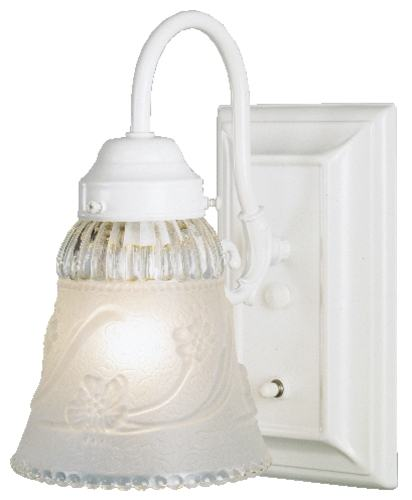 Westinghouse Wall Sconces With Switch : Westinghouse Lighting 67531 Sconce Wall 1-Light W/On-Off Switch at Sutherlands