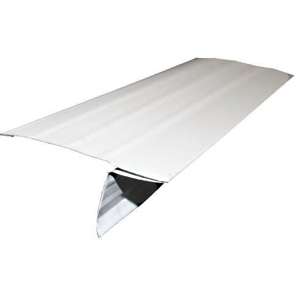 Dot Metal 01840b Galvanized Roof Edge D Style 41 4 10 Ft