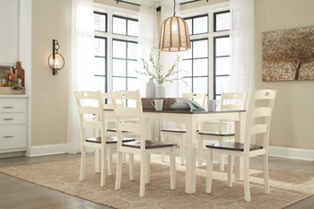 Signature Design By Ashley D335 425 Woodanville White And