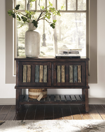 Signature Design By Ashley T580 40 Console Table Mestler