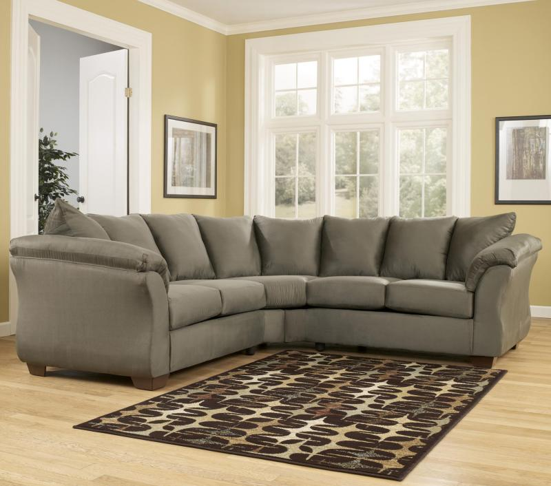 Ashley Furniture Beaumont Tx: Signature Design By Ashley 7500355/56 Darcy Sage 2-Piece