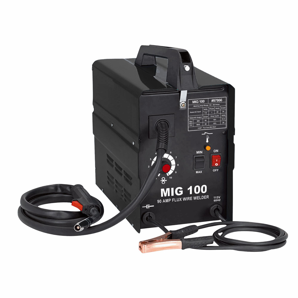 ATE Pro Tools 97866 Mig-100 Flux Wire Mig Welder at Sutherlands