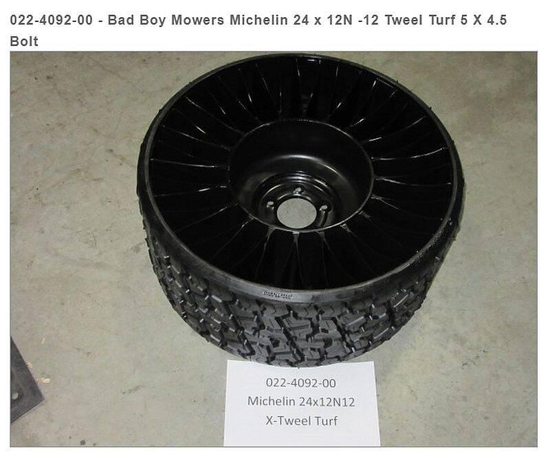 Bad Boy Mowers 022-4092-00