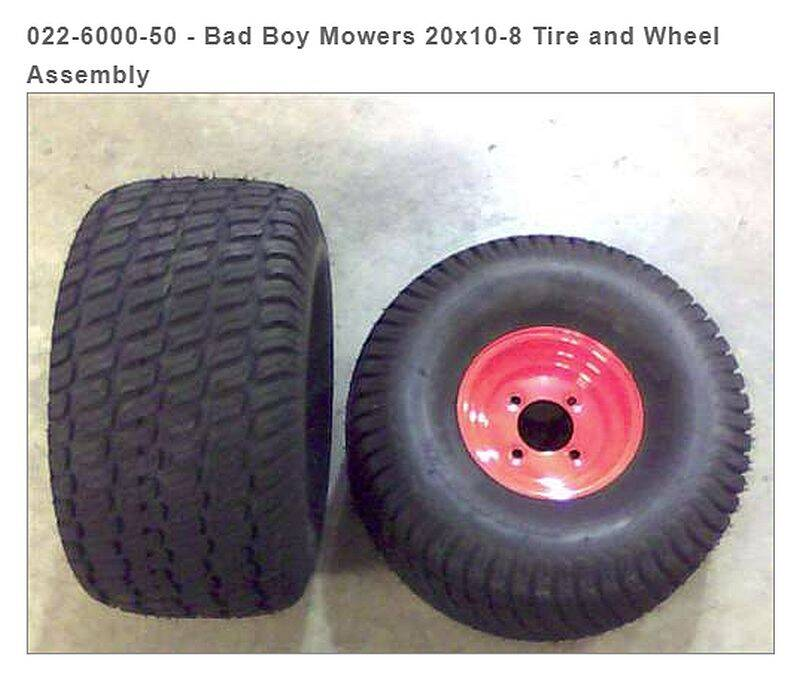 Bad Boy Mowers 022-6000-50