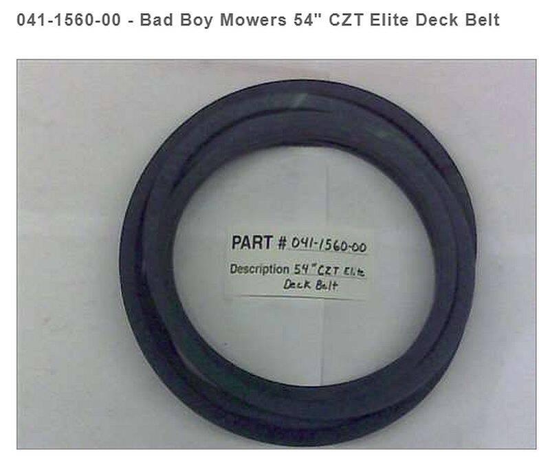 Bad Boy Mowers 041-1560-00