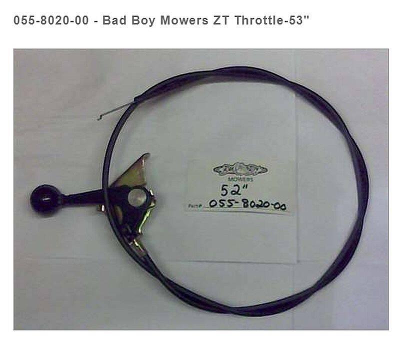 BAD BOY MOWERS 055-8020-00