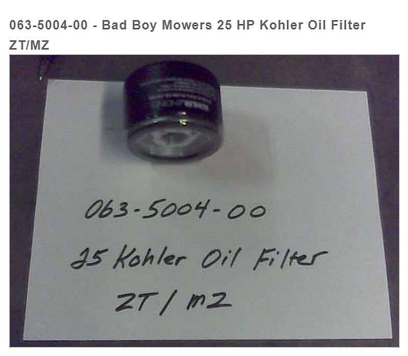 Bad Boy Mowers 063-5004-00