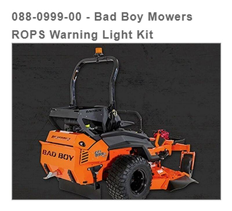 Bad Boy Mowers 088-0999-00