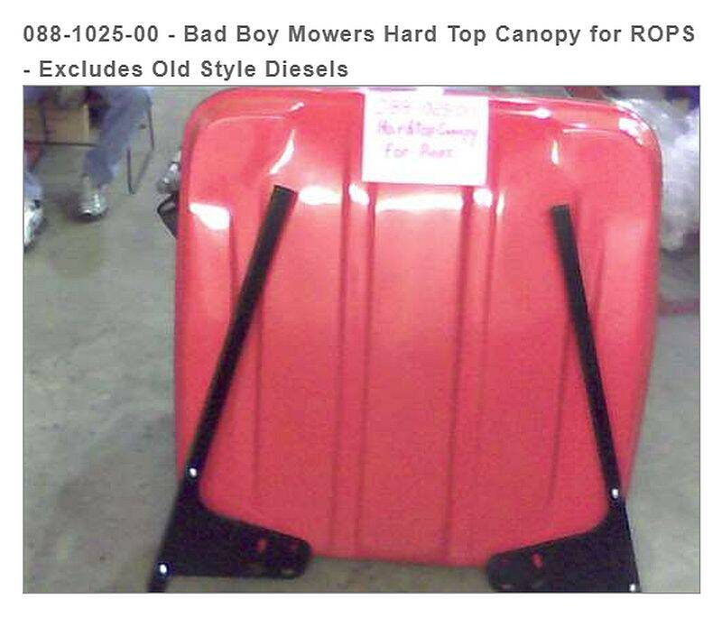 Bad Boy Mowers 088-1025-00