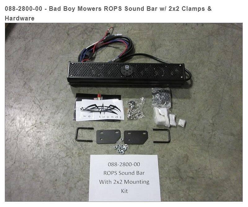 Bad Boy Mowers 088-2800-00