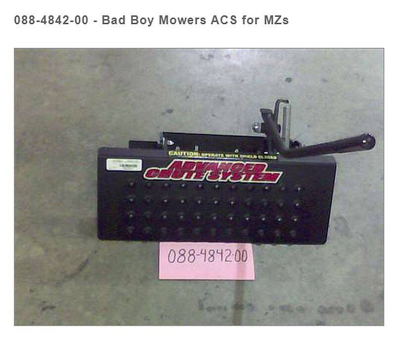 Bad Boy Mowers 088-4842-00