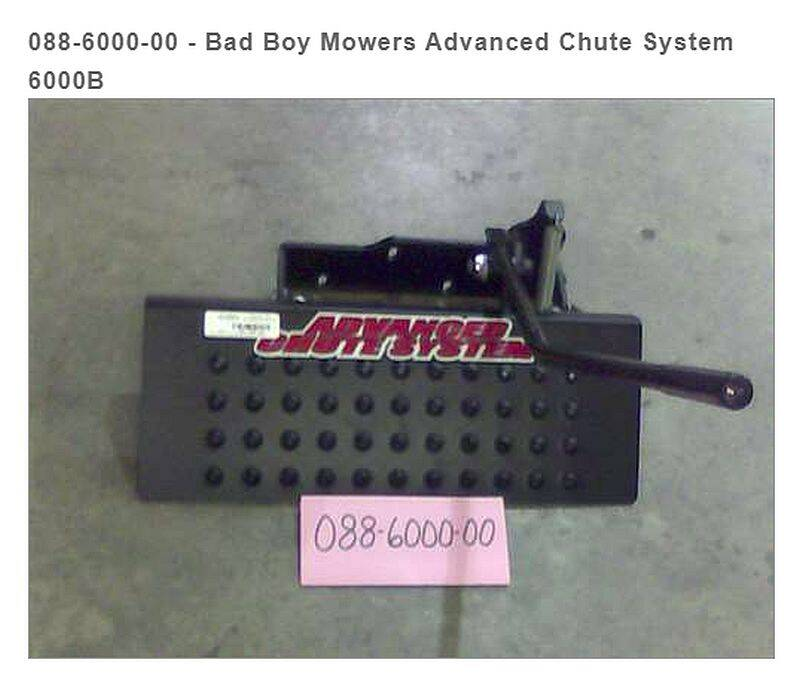 Bad Boy Mowers 088-6000-00