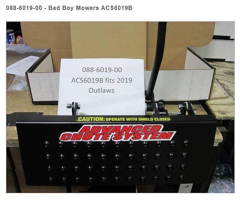 Bad Boy Mowers 088-6019-00