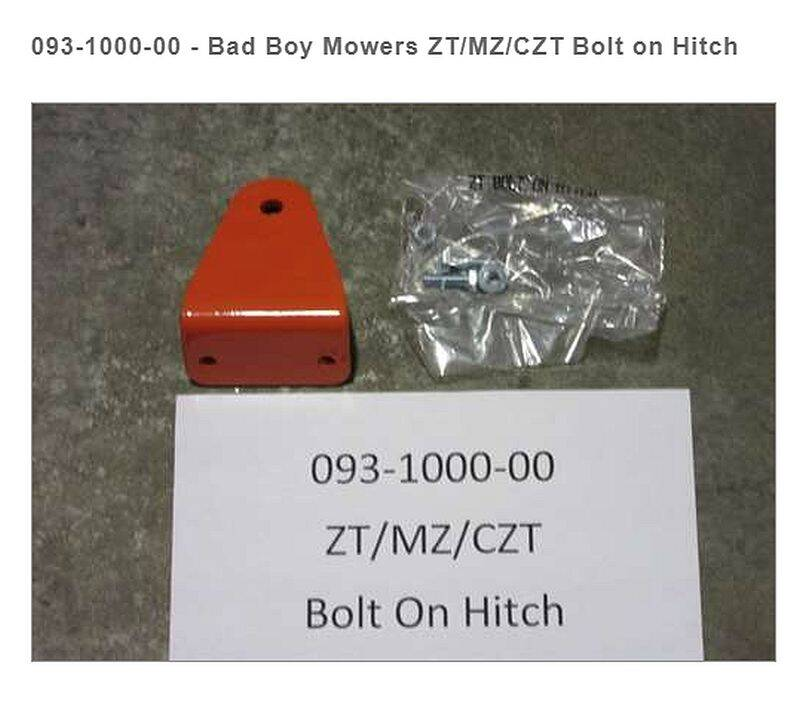 BAD BOY MOWERS 093-1000-00