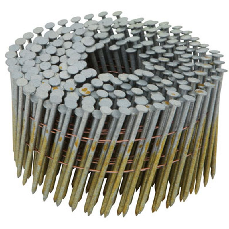 Stanley Bostitch C8p99dg Coil Framing Nails Plain 21 2x