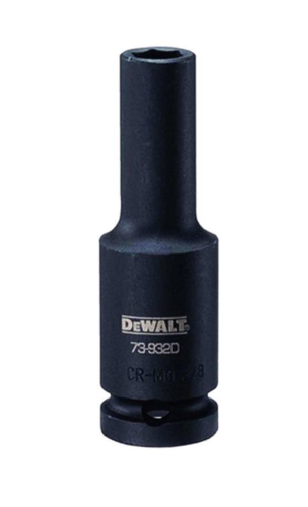 "DEWALT DWMT74659OSP 1//2/"" 6 pt Drive Deep Impact Socket 1-1//8/"""