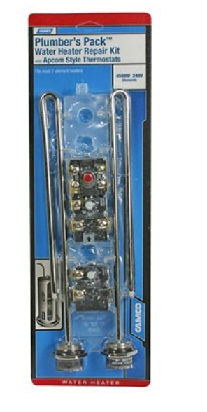 Camco 07043 LWD Apcom Style Plumbers Pack Water Heater Repair Kit