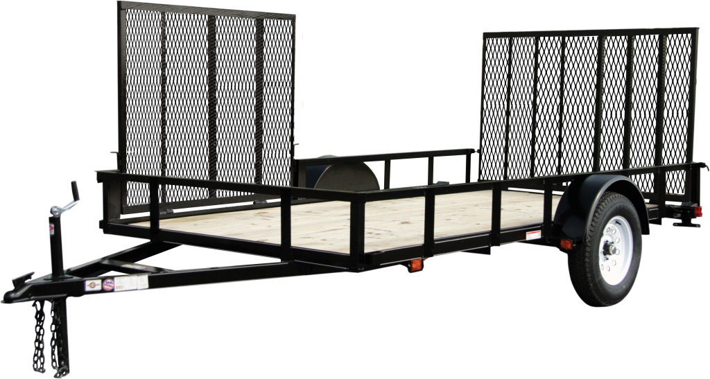 Carry on trailers 6x12gwatv 6 x 12 foot wood floor atv for 6x12 wood floor trailer