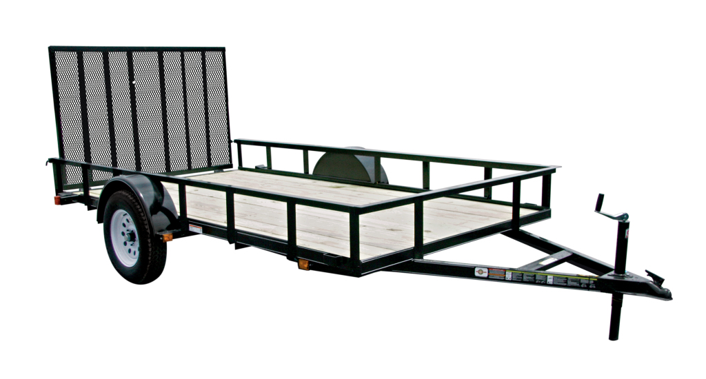 Carry on trailers 6x12gw 6 ft x 12 ft wood floor trailer for 6x12 wood floor trailer