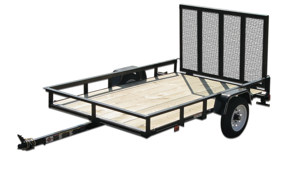 Carry on trailers 5x10gw2k 5 ft x 10 ft wood floor trailer for 6x12 wood floor trailer