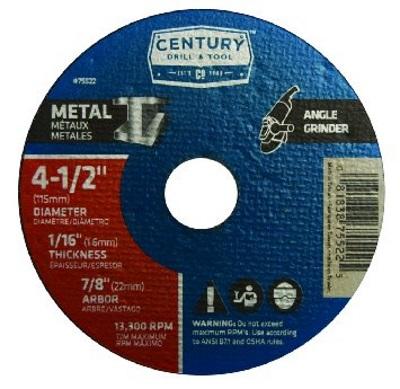 Century Drill & Tool 75522