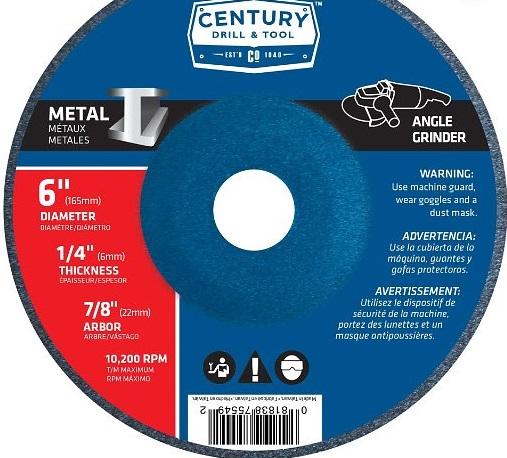 Century Drill & Tool 75549
