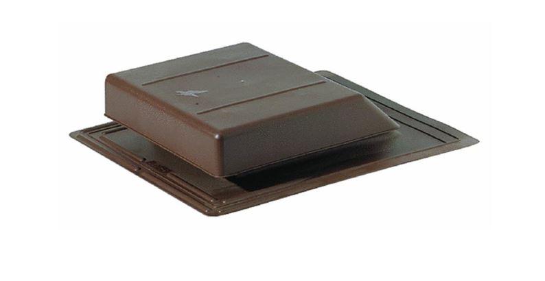 Air Vent 90122 Roof Vent Slant Back Plastic Brown At
