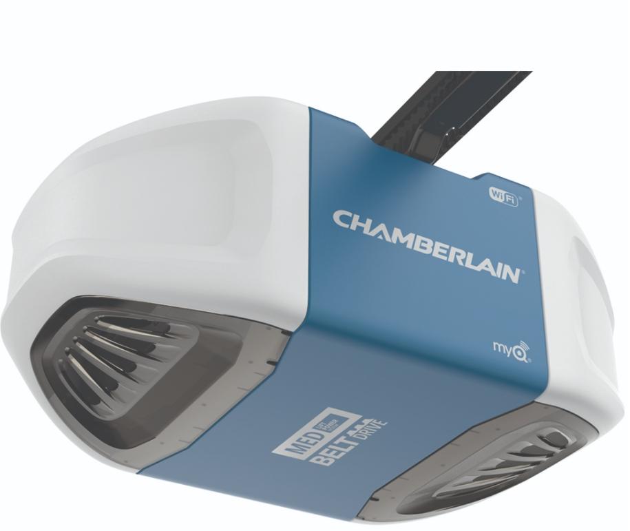 Chamberlain B550 Quiet Belt Drive Wifi Garage Door Opener