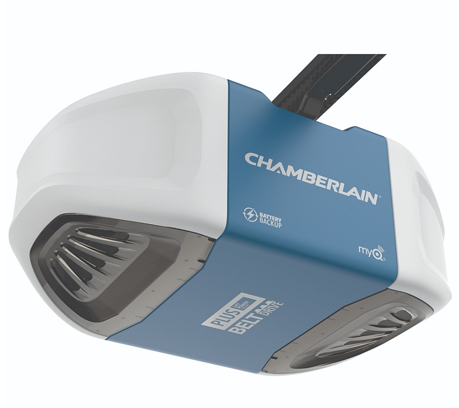 Chamberlain B730 3 4 Hp Belt Drive Garage Door Opener With